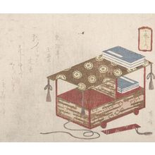 柳々居辰斎: Bunsha (Book Cart), from the series Jugai no uchi - ハーバード大学