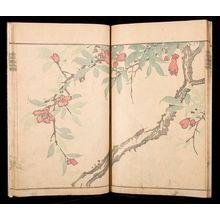 Kawamura Bumpô: Book of Paintings by Kimpaen (Kimpaen gafu), Late Edo period, published 1820 - ハーバード大学