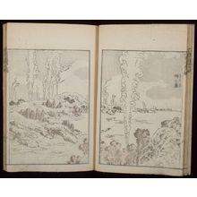 葛飾北斎: Random Sketches by Hokusai (Hokusai manga) Vol. 9, Late Edo period, dated 1819 (Bunsei 2) - ハーバード大学