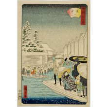 歌川国芳: ?, from the series Thirty-Six Views of Tokyo, Late Edo period - ハーバード大学