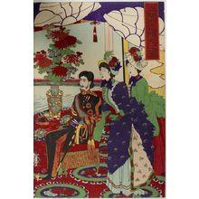 無款: Ueno Shinobazu Horserace, Meiji period, 1890 - ハーバード大学