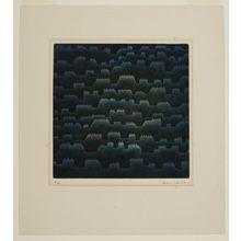 Hamaguchi Yôzô: Roofs of Paris, 1956 - Harvard Art Museum