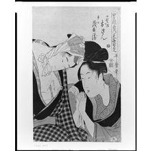 Kitagawa Utamaro: Osan and Mohei, from the series