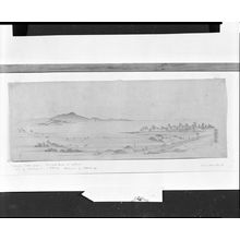Utagawa Hiroshige: View of Gyotoku Saltflats (Gyotoku Shiohama) - Harvard Art Museum