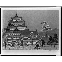 Sekino Jun'ichiro: Miya Castle, Shôwa period, - Harvard Art Museum