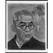 Sekino Jun'ichiro: Portrait of Actor Nakamura Kichiemon, Shôwa period, dated 1947 - Harvard Art Museum