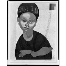Sekino Jun'ichiro: Portrait of a Boy, Shôwa period, circa 1961(?) - Harvard Art Museum