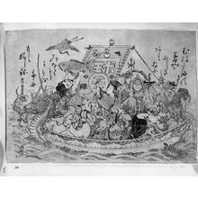 Ishikawa Toyonobu: THE SHIP OF GOOD FORTUNE - Harvard Art Museum