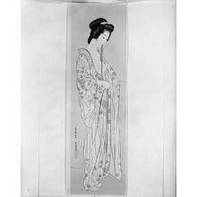 Hashiguchi Goyo: Woman Dressing (posthumous edition circa 1922?), Taishô period, circa 1919-1922 - Harvard Art Museum