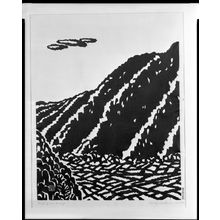 Hiratsuka Un'ichi: Foot of Mount Amagi, Shôwa period, dated 1954 - Harvard Art Museum