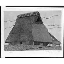 Tanaka Ryôhei: Farm House No. 2, Shôwa period, dated 1967 - ハーバード大学