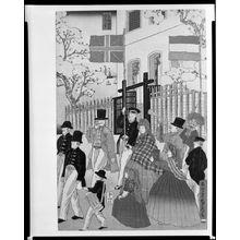 歌川貞秀: Procession - ハーバード大学