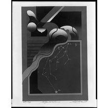 黒崎彰: Aquarius, from the Zodiac Series, Shôwa period, circa 1973 - ハーバード大学