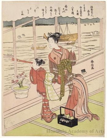 Suzuki Harunobu The Flowers Of Beauty In The Floating World
