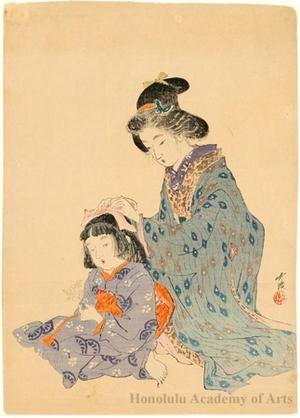 Odake Chikuha: Sisters - ホノルル美術館
