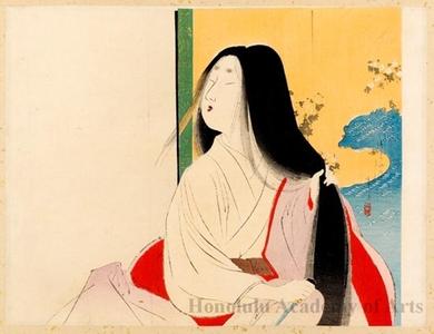富岡英泉: Lady Kesa - ホノルル美術館