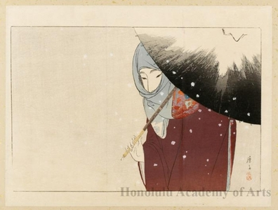 Tomioka Eisen: Snowy Day - Honolulu Museum of Art