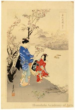 Ogata Gekko: Plum Flowers - Honolulu Museum of Art