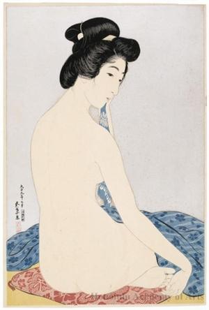 Hashiguchi Goyo: Woman After the Bath - Honolulu Museum of Art