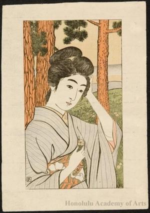Hashiguchi Goyo: A Flower for Her Hair - Honolulu Museum of Art