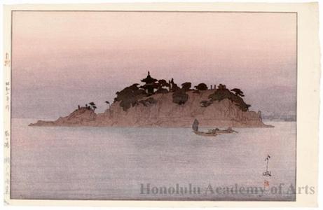Yoshida Hiroshi: Tomonourna - Honolulu Museum of Art