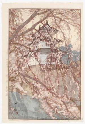 吉田博: Hirosaki Castle - ホノルル美術館