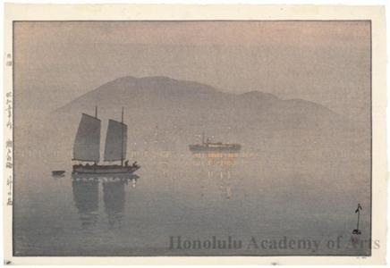 吉田博: Könoshima - ホノルル美術館