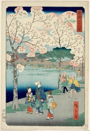 Utagawa Hiroshige II: Sinobazu Pond - Honolulu Museum of Art