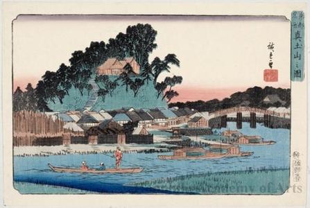 Utagawa Hiroshige: Matsuchiyama - Honolulu Museum of Art