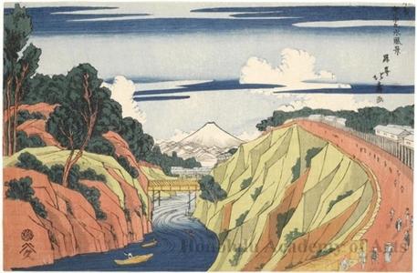 Shotei Hokuju: View of Ochanomizu - Honolulu Museum of Art