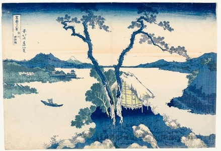 Katsushika Hokusai: Lake Suwa in Shinano Province - Honolulu Museum of Art