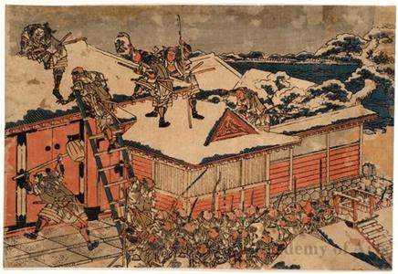 葛飾北斎: Chushingura Act 11 - ホノルル美術館