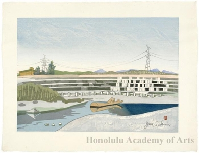 Sekino Junichirö: Kawasaki: Tama River - Honolulu Museum of Art