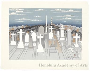 Sekino Junichirö: Kanagawa: Foreigner's Cemetery - Honolulu Museum of Art