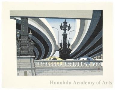 Sekino Junichirö: Nihonbashi: Expressway - ホノルル美術館