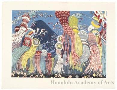 Sekino Junichirö: Hiratsuka : Star Festival in July - Honolulu Museum of Art