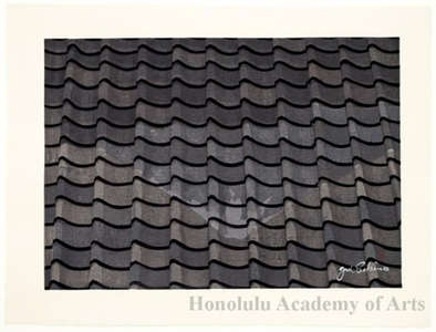 Sekino Junichirö: Hara: Roof-tile Reflections of Mt. Fuji - Honolulu Museum of Art