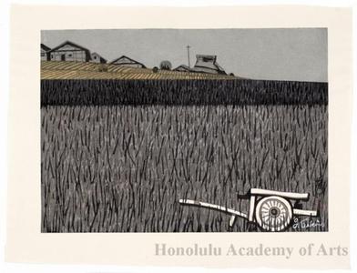 Sekino Junichirö: Fujikawa: Farmhouses - ホノルル美術館