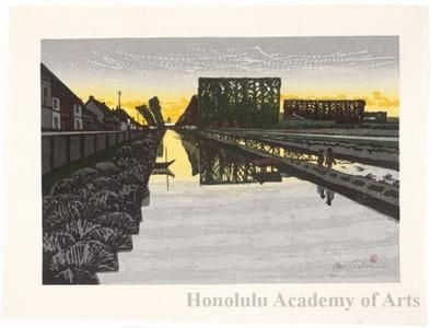 Sekino Junichirö: Minakuchi: Twilight River - ホノルル美術館