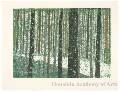 Sekino Junichirö: Tsuchiyama: Path through a Forest - Honolulu Museum of Art