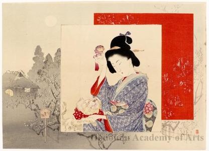 Suzuki Kason: Beautiful Woman in Spring - Honolulu Museum of Art