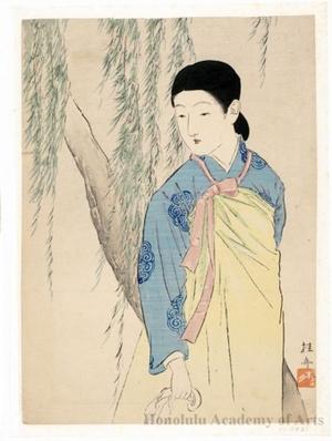 武内桂舟: Korean Beauty - ホノルル美術館