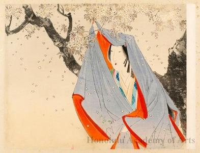 武内桂舟: Poet Benno Naishi - ホノルル美術館