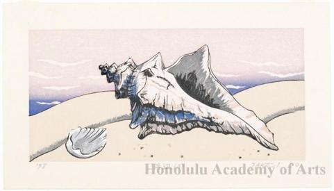 Kusaka Kenji: Seashore #3 - Honolulu Museum of Art