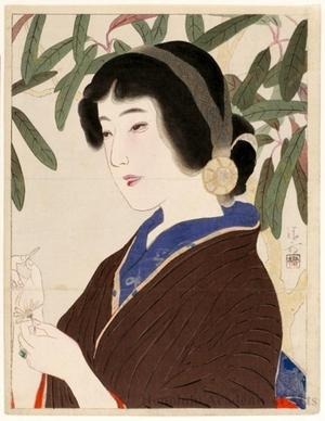 鏑木清方: Chieko - ホノルル美術館