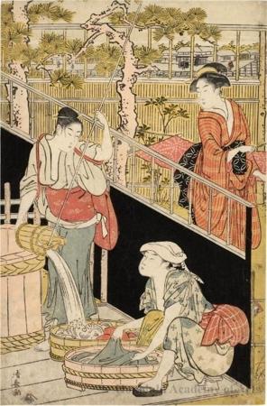 Torii Kiyonaga: The Laundry - Honolulu Museum of Art