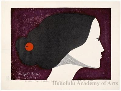 Asai Kiyoshi: Coral - Honolulu Museum of Art