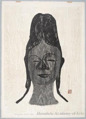 朝井清: Head of Moon Goddess - ホノルル美術館