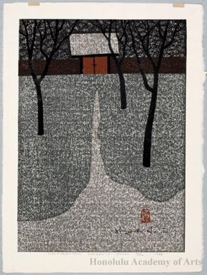 Asai Kiyoshi: Syujyaku-mon Sansen-in, Kyoto - Honolulu Museum of Art