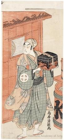 鳥居清経: Ötani Hiroji II - ホノルル美術館